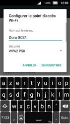 Doro 8031 - Internet et connexion - Partager votre connexion en Wi-Fi - Étape 10
