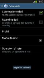 Samsung Galaxy S 4 Mini LTE - Rete - Selezione manuale della rete - Fase 10
