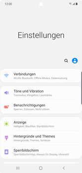 Samsung Galaxy Note 10 Plus 5G - WiFi - WiFi Calling aktivieren - Schritt 5