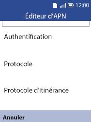Alcatel 3088X - Premiers pas - Configurer l