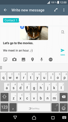 Sony Sony Xperia XA (F3111) - MMS - Sending pictures - Step 16