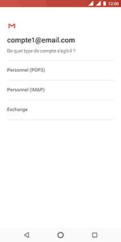 Nokia 5.1 - E-mail - Configuration manuelle - Étape 11