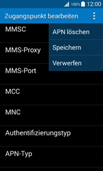 Samsung Galaxy Trend 2 Lite - MMS - Manuelle Konfiguration - 2 / 2