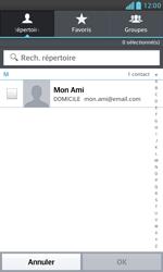 LG E975 Optimus G - E-mail - envoyer un e-mail - Étape 5