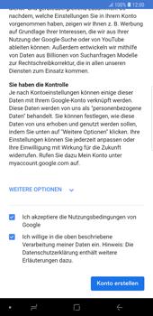 Samsung Galaxy Note9 - Apps - Konto anlegen und einrichten - 17 / 22