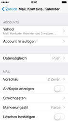 Apple iPhone 5 - E-Mail - Konto einrichten (yahoo) - 10 / 12