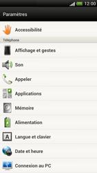 HTC Z520e One S - Messagerie vocale - Configuration manuelle - Étape 4