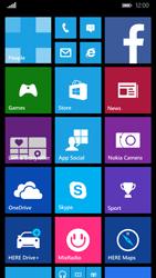 Nokia Lumia 830 - SMS - handmatig instellen - Stap 1