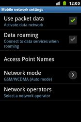 Samsung S7500 Galaxy Ace Plus - Internet - Manual configuration - Step 8