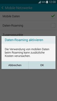 Samsung Galaxy Note 4 - Ausland - Im Ausland surfen – Datenroaming - 9 / 12
