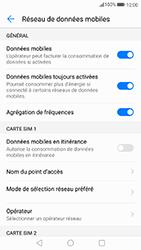 Huawei P10 Lite - Aller plus loin - Désactiver les données à l'étranger - Étape 6