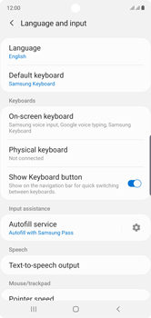 Samsung Galaxy Note 10 - Getting started - How to add a keyboard language - Step 6
