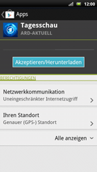 Sony Ericsson Xperia X10 - Apps - Herunterladen - Schritt 8