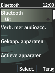 Nokia 301-1 - bluetooth - aanzetten - stap 6