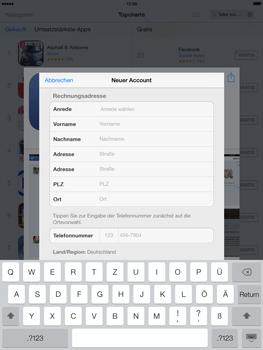 Apple iPad mini iOS 7 - Apps - Einrichten des App Stores - Schritt 20