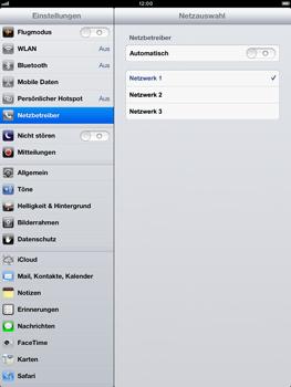 Apple iPad Retina - Netzwerk - Manuelle Netzwerkwahl - Schritt 9