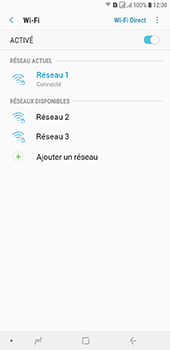 Samsung Galaxy J6 Plus - Internet et connexion - Accéder au réseau Wi-Fi - Étape 9