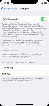 Apple iPhone X - Gerät - Batterielebensdauer/Energiesparmodus - 6 / 6