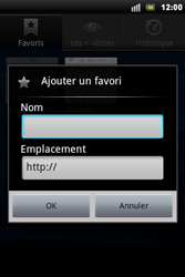 Sony Xperia Mini Pro - Internet - Navigation sur Internet - Étape 9