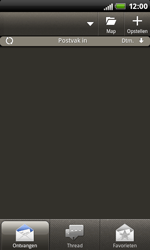 HTC S510b Rhyme - E-mail - handmatig instellen - Stap 4