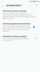 Samsung A510F Galaxy A5 (2016) - Android Nougat - Device - Software update - Step 6