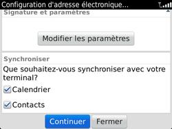 BlackBerry 9900 Bold Touch - E-mail - Configuration manuelle - Étape 9