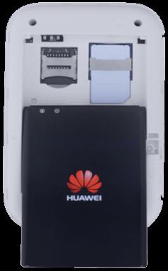 Huawei E5577 - Premiers pas - Noter les codes Wi-Fi - Étape 4