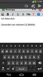 LG D955 G Flex - E-Mail - E-Mail versenden - Schritt 18