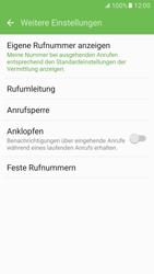 Samsung G930 Galaxy S7 - Anrufe - Rufumleitungen setzen und löschen - Schritt 7