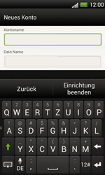 HTC T320e One V - E-Mail - Konto einrichten - Schritt 16