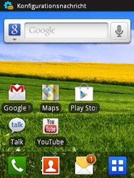 Samsung Galaxy Mini - MMS - Automatische Konfiguration - 4 / 11