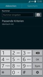Samsung Galaxy Alpha - Anrufe - Anrufe blockieren - 8 / 13