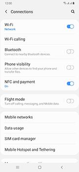 Samsung Galaxy A50 - WiFi - Enable WiFi Calling - Step 6