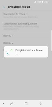 Samsung Galaxy S8 - Android Oreo - Réseau - Sélection manuelle du réseau - Étape 12