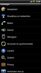 HTC Z710e Sensation - Bellen - in het buitenland - Stap 4