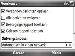 HTC S521 Snap - MMS - probleem met ontvangen - Stap 11