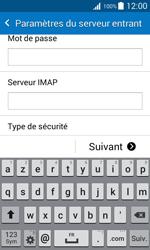 Samsung J100H Galaxy J1 - E-mail - Configuration manuelle - Étape 10