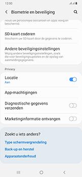 Samsung Galaxy A50 - Beveiliging - pas de pincode voor je simkaart aan - Stap 5