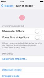 Apple iPhone SE - Sécuriser votre mobile - Activer le code de verrouillage - Étape 8