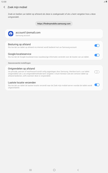 Samsung galaxy-tab-a-10-5-sm-t595-android-pie - Beveiliging en ouderlijk toezicht - Zoek mijn mobiel inschakelen - Stap 9