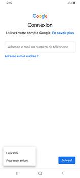 Samsung Galaxy A80 - Applications - Configuration de votre store d