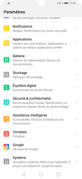 Huawei P Smart (2019) - Aller plus loin - Mettre à jour le logiciel interne de votre mobile - Étape 4
