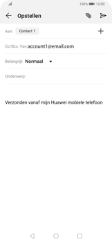 Huawei P Smart Z - E-mail - e-mail versturen - Stap 6