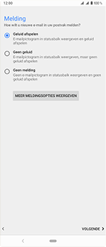 Sony Xperia 1 - E-mail - handmatig instellen (outlook) - Stap 15