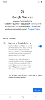 Samsung Galaxy S20 Plus 5G - Applications - Setting up the application store - Step 19