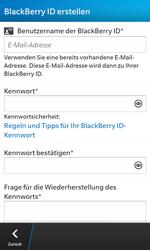 BlackBerry Z10 - Apps - Einrichten des App Stores - Schritt 9