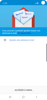 Samsung Galaxy S10e - E-mail - 032a. Email wizard - Gmail - Étape 6