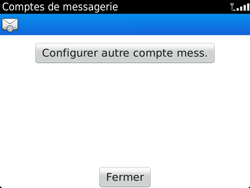 BlackBerry 9900 Bold Touch - E-mail - Configuration manuelle - Étape 13