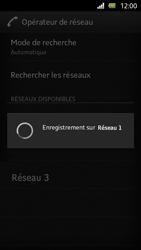 Sony Xperia U - Réseau - Sélection manuelle du réseau - Étape 10