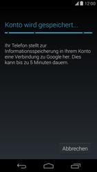 LG D821 Google Nexus 5 - Apps - Konto anlegen und einrichten - Schritt 15
